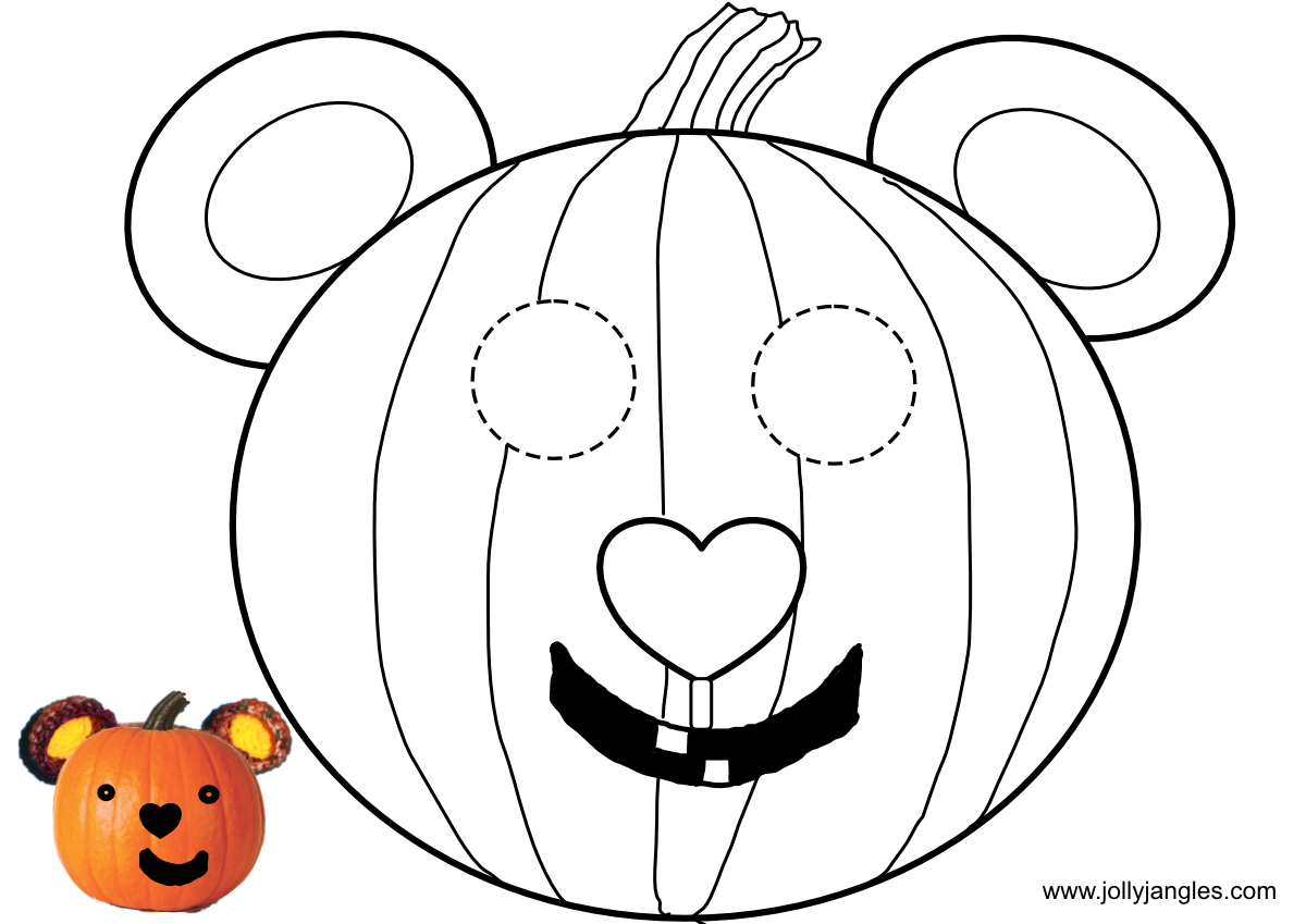 The Jolly Jangles Halloween Mask - Autumn