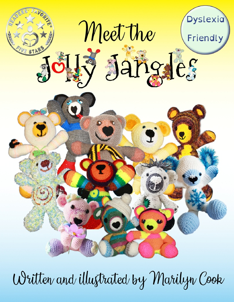 """Meet the Jolly Jangles"" is on Amazon now.  Click here to get your copy!"