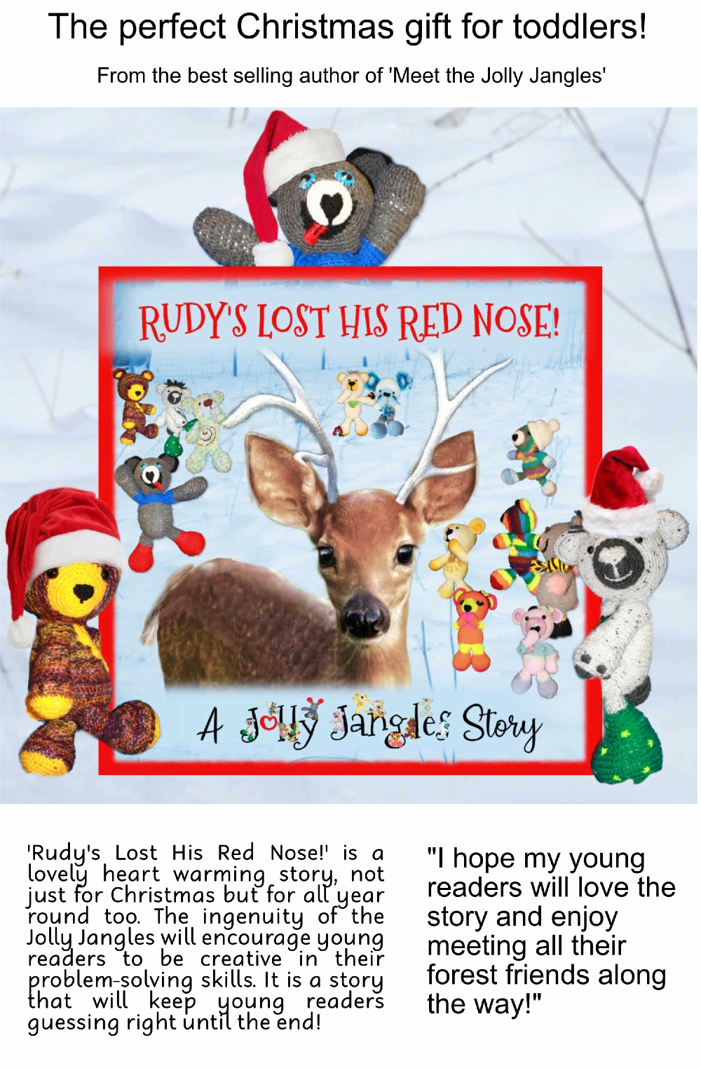 Rudy's Lost His Red Nose! - out now on Amazon