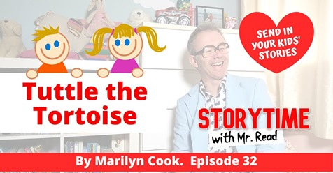Listen to Mr Read tell the story of Tuttle's Birthday